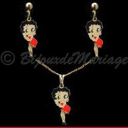 Betty Boop, parure bijoux