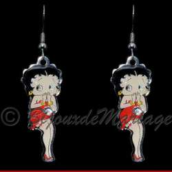 Betty Boop, s'exclame boucles d'oreilles