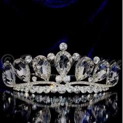 Diademe mariage SUPRÊME, cristal clair