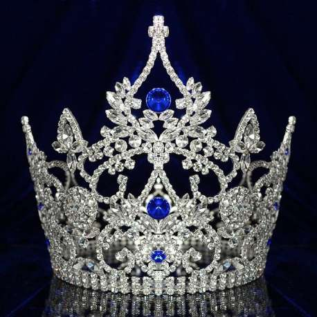 Couronne de miss Queen, bleue