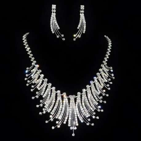 Parure de bijoux mariage Luciole
